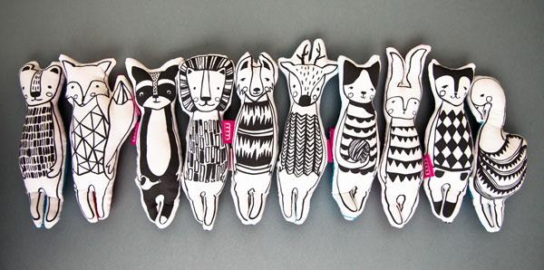 projekt maskotek zwierząt