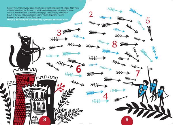 ilustracja z zagadką do książki dla dzieci
