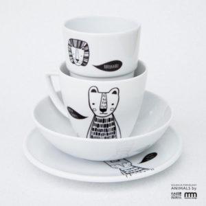 porcelana z serii animals