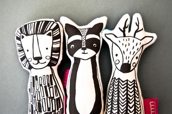 projekt graficzny i wykonanie maskotek zwierząt