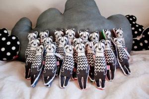 maskotki Panda projekt graficzny