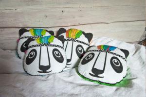 Poduszki Panda