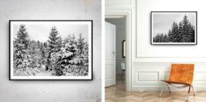 fotografia czarno-biała we wnętrzach