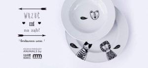talerze z kolekcji animals