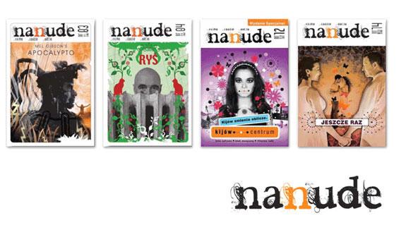 ilustracja na okładkach magazynu nanude