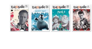 ilustracje na okładkach magazynu nanude