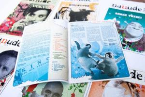 ilustracja filmowa dla magazynu nanude