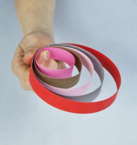 projekt jajka z papierowych pasków