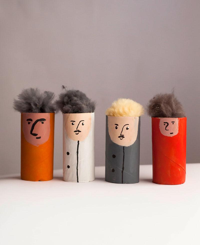 postacie z filmu animowanego