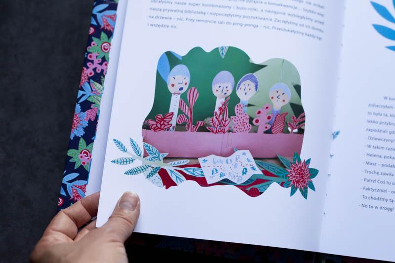 strona z książki z ilustracją i tekstem